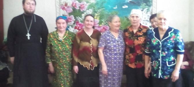 Встречи с пожилыми людьми в центре социального обслуживания с.Алнаши
