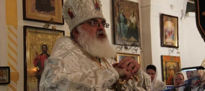 в праздник Обрезания Господня и свт.Василия Великого епископ Сарапульский и Можгинский Антоний совершил божественную литургию в нашем храме.